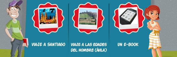 Un viaje a Santiago, un viaje a las Edades del Hombre (Ávila) o un E-book