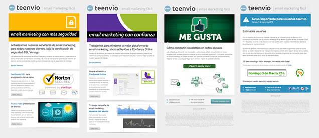 Plantillas Personalizadas para diseño de Newsletters