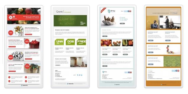 Plantillas Prediseñadas para diseño de Newsletters