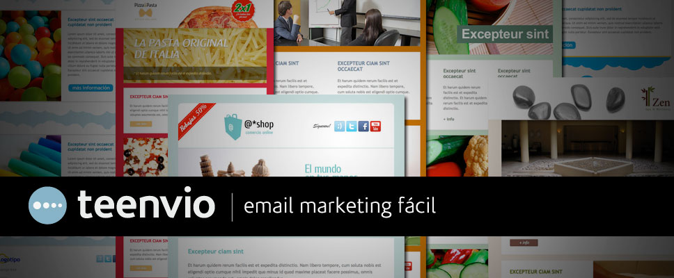 Plantillas html para Newsletters en email marketing