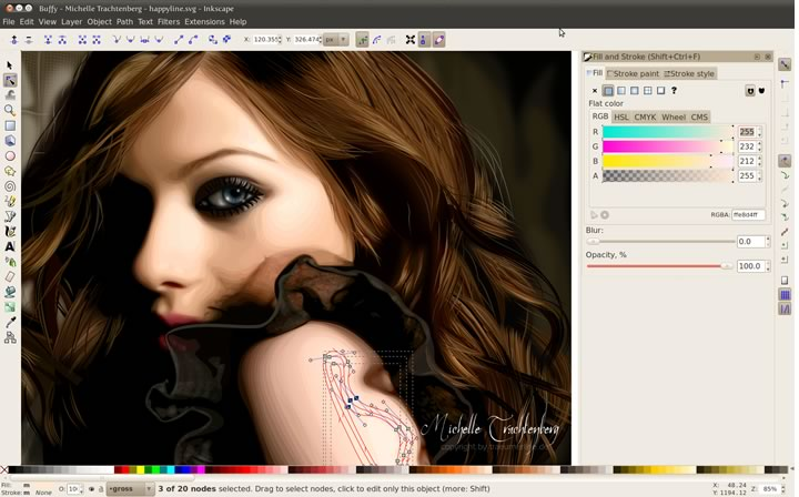 Cómo optimizar imágenes Inkscape