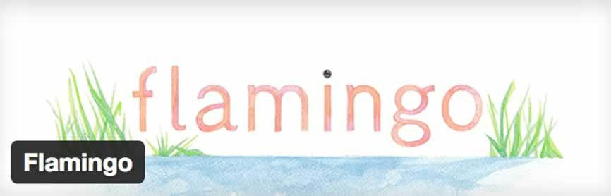 Flamingo para WordPress