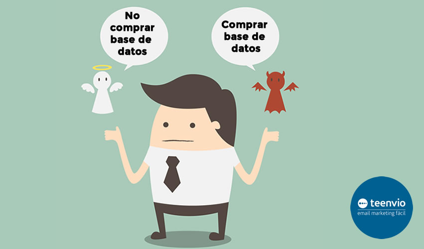 Comprar bases de datos campañas email marketing