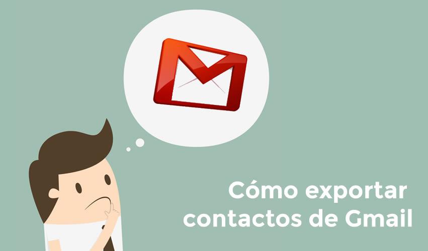 Cómo exportar contactos de Gmail