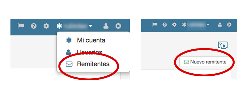 remitentes email