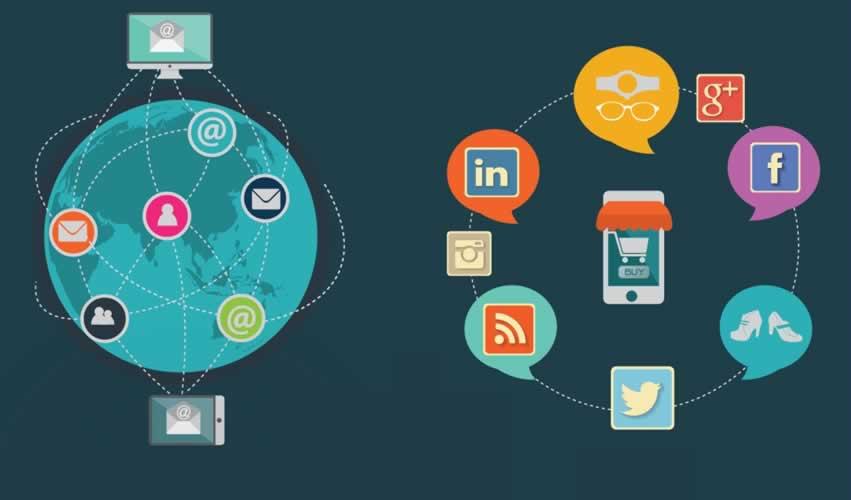integrar email marketing y social media