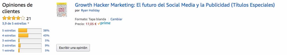 opiniones clientes Amazon